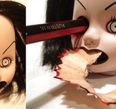 Apontador de Lápis para o Halloween