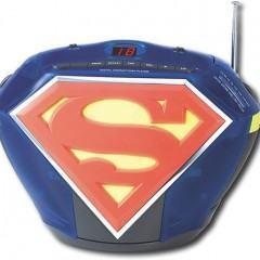 O Boombox do Superman!