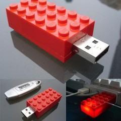 Carregue seus Dados em um Lego