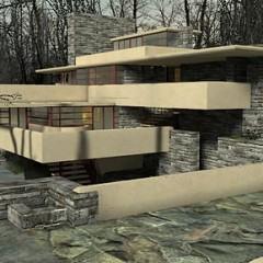 Casa de Frank Lloyd Wright no jogo Half-Life 2