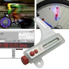 Mensagens personalizadas em sua Bike