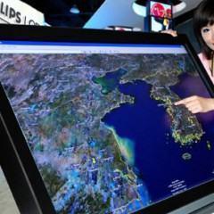 "CES 2008: LG Philips Apresenta Tela Multi-Touch de 52"""