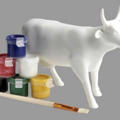 Pinte sua Própria Vaca da CowParade!