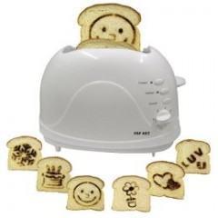 Popart Toaster, uma torradeira que faz desenhos no sanduíche
