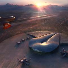 O Aeroporto Espacial da Virgin Galactic