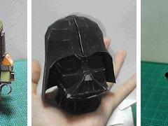 Mais Modelos Star Wars de Graça para Você Montar!