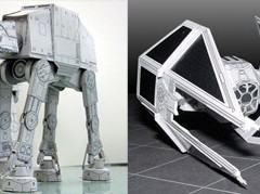 Um Monte de Naves Star Wars para Imprimir e Montar