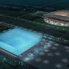 Watercube, o Centro de Natação para as Olimpíadas de 2008