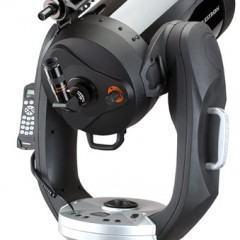 Um Telescópio com GPS!