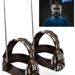 Walkie Talkie Máscara do Bane em Batman: O Cavaleiro das Trevas Ressurge