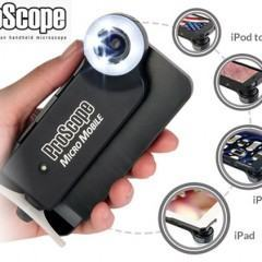Microscópio Mobile para iPhone, iPad e iPod Touch!