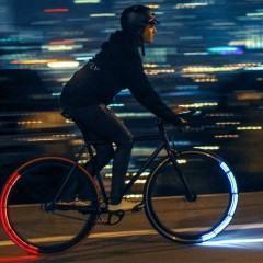 Revolights, rodas de bike com luzes LED para aumentar a segurança dos ciclistas noturnos