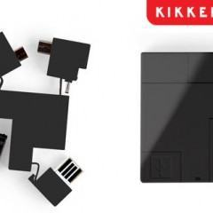 Adaptador USB 5-em-1 com Design Moderno