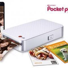 Impressora Portátil de Fotos LG Pocket Photo