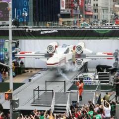 Um X-Wing Feito com 5 Milhões de Peças LEGO