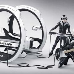 Dicycle, um conceito para um amplificador sobre rodas