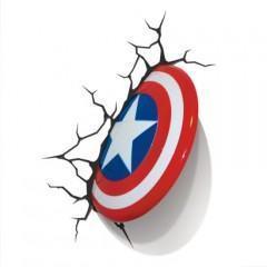 Os Vingadores vão invadir o seu quarto com as luzes noturnas do Capitão América, Thor e Hulk!