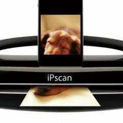 IPScan, um dock com scanner para o iPhone e iPad