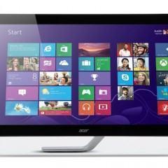 Monitor multitouch de 27 polegadas com resolução WQHD e outras novidades da Acer