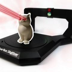 MakerBot Digitizer, um scanner 3D para capturar seus objetos favoritos, ou o seu gato!