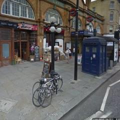 Doctor Who 50 Anos: Entre dentro da TARDIS com o Google Street View!