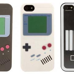 Cases Retrô para o iPhone 5s com temas da Nintendo, fitas cassette ou VHS
