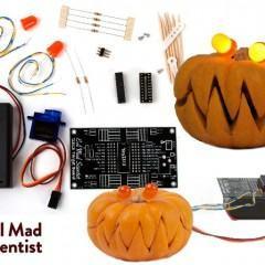 Snap-O-Lantern Kit DIY para Fazer uma Abóbora de Halloween Robótica