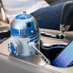 Carregador USB para Carros do R2-D2