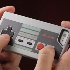 Um case para iPhone com os controles do Nintendinho!