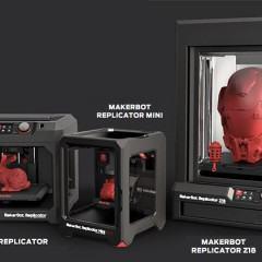 MakerBot apresenta suas armas: Replicator, Replicator Mini e Z18