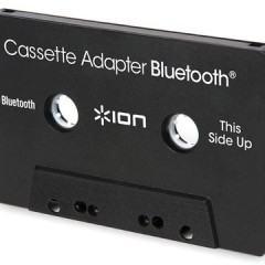 Adaptador Bluetooth em formato de fita cassette