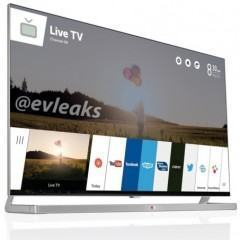Interface da TV LG com webOS aparece na web
