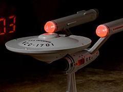Despertador Star Trek: U.S.S. Enterprise NCC-1701