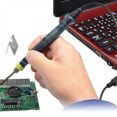 Ferro de solda USB não é para os fracos