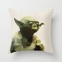Que a Força esteja com estas almofadas com personagens da saga Star Wars geométricos