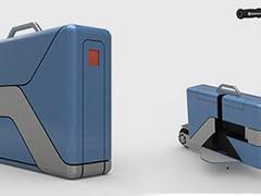 Commute Case, uma pasta que vira scooter para te levar até o escritório!