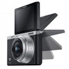 Samsung NX, uma pequena câmera com lentes intercambiáveis, Wi-Fi e NFC