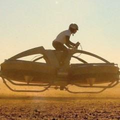 Aero-X, uma hoverbike pra sair voando por aí