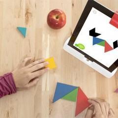 Osmo, um jogo para iPad que captura objetos do mundo real