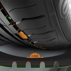 Pneus com sensores que monitoram a pressão e o desgaste