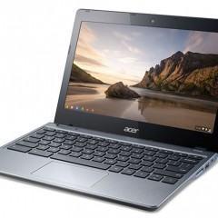Novos Chromebooks da Acer com Core i3