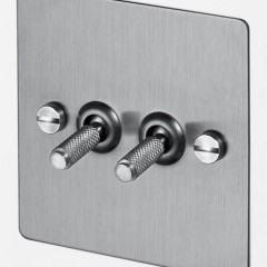 Electricity: Interruptores e dimmers com padrão industrial