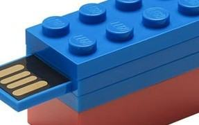 O flash drive USB oficial da LEGO!