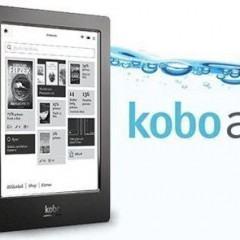 Com o Kobo Aura H20, você poderá ler até debaixo d'água