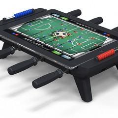 Com a Foosball Table você pode jogar totó/pebolim no iPad!