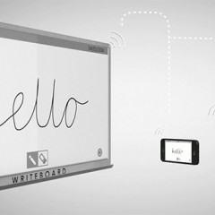 WriteBoard, um quadro branco com Wi-Fi