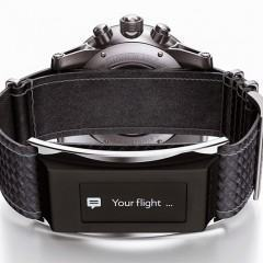 Montblanc E-Strap, um wearable que fica na pulseira do relógio