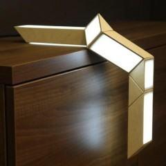 5+5, uma luminária LED inspirada na Rubik's Snake!