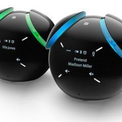 Simpático alarme com caixa de som Bluetooth da Sony