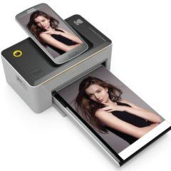 Impressora portátil da Kodak com dock para smartphones e conectividade Wi-Fi